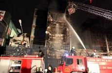 Cháy lớn tại TP.HCM: Ba căn nhà bị thiêu rụi, một người chết