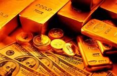 Giá vàng giảm phiên thứ ba trong bối cảnh đồng USD tăng giá