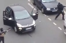 Hình ảnh những kẻ khủng bố tấn công vào tuần báo Charlie Hebdo