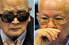 Campuchia nối lại phiên xét xử hai cựu thủ lĩnh chế độ Khmer Đỏ