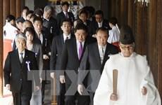 Trung Quốc chỉ trích Nhật Bản về việc thăm đền Yasukuni