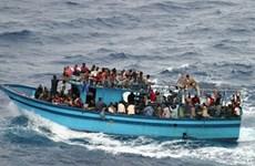 Chìm thuyền trên Biển Đỏ, ít nhất 35 người nhâp cư mất tích