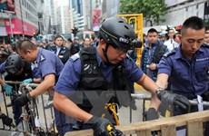 Cảnh sát Hong Kong bắt người biểu tình phản đối du khách đại lục