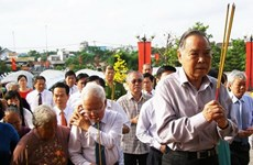 TP.HCM: Họp mặt truyền thống lần thứ 40 Chiến khu An Phú Đông