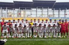 Đội U15 Việt Nam đánh bại U15 Myanmar trên đất Trung Quốc