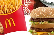 Nga chỉ trích sản phẩm Coca-Cola, McDonald's hại cho sức khỏe