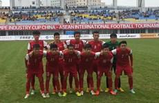 U15 Việt Nam rộng cửa giành chức vô địch trên đất Trung Quốc
