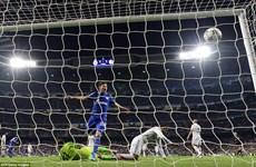 Cận cảnh Real Madrid gục ngã trước Schalke ngay tại Bernabeu