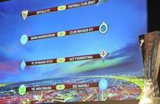 Kết quả bốc thăm tứ kết Europa League: Cân sức, kịch tính!