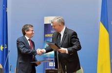 """EU và Ukraine ký thỏa thuận liên kết về chương trình """"Chân trời 2020"""""""