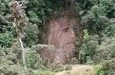 Gương mặt của Chúa Jesus xuất hiện trên sườn đồi ở Colombia?
