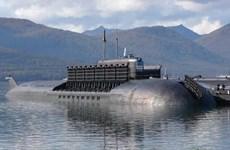 Cháy tàu ngầm nguyên tử 949 Antei của Nga ở Arkhangelsk