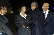 Tổng thống Mỹ Barack Obama bắt đầu công du Jamaica và Panama
