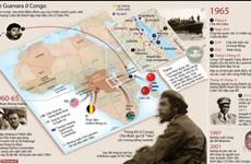 [Infographics] Nhà cách mạnh Cuba Che Guevara tại Congo