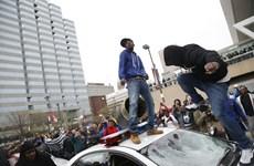 Mỹ: Bạo loạn dữ dội trong cuộc biểu tình phản đối cảnh sát ở Maryland