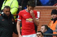 Manchester United thua sốc Everton: Mất Carrick là mất tất!