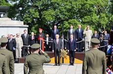 Tổng thống Séc Milos Zeman tưởng niệm nạn nhân Thế chiến 2