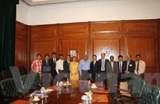 Việt-Ấn thảo luận đào tạo nhân lực công nghệ vũ trụ và viễn thám