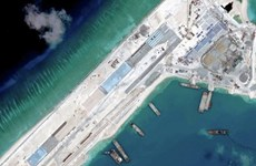Mỹ kêu gọi ngừng ngay hoạt động bồi lấp trái phép ở Biển Đông