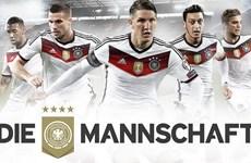 Đội tuyển Đức công bố logo mới: Đồng đội là sức mạnh vĩnh cửu