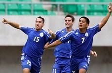 """""""Đội bóng tí hon"""" Guam tiếp tục gây sốc ở vòng loại World Cup"""