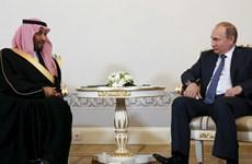 Saudi Arabia và Nga tiến hành ký thỏa thuận hạt nhân và dầu mỏ