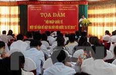 Hội nhập quốc tế - một số vấn đề đặt ra với Việt Nam từ 2015