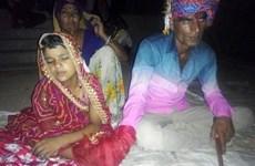 Ngỡ ngàng trước những hình ảnh chụp tại đám cưới cô dâu 6 tuổi