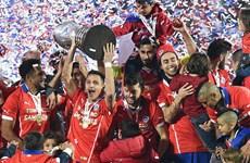 Chile lần đầu tiên vô địch Copa America sau loạt luân lưu 11m