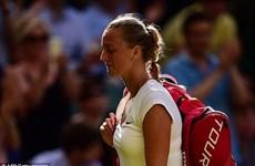 Wimbledon: Đương kim vô địch Petra Kvitova phải dừng bước!