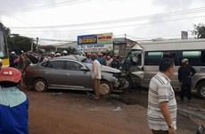 Gia Lai: Tai nạn giao thông nghiêm trọng khiến 2 người tử vong