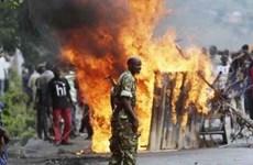 Giới chức Burundi trì hoãn bầu cử tổng thống sang ngày 21/7