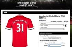 Tên của Bastian Schweinsteiger quá dài để in trên áo của M.U