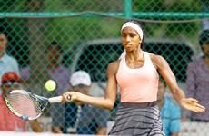 Hơn 100 tay vợt tham dự giải quần vợt quốc tế U18 ITF nhóm 5