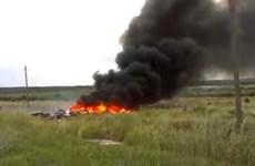 Xuất hiện đoạn video mới quay lại hiện trường vụ MH17 gây sốc