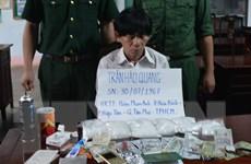 Bình Phước bắt vụ vận chuyển ma túy đá lớn nhất từ trước tới nay