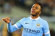 """Sterling """"nổ súng,"""" Manchester City nhọc nhằn đánh bại AS Roma"""