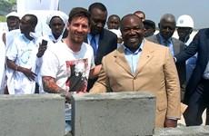 """Gabon bác bỏ tin chi hàng triệu USD cho Messi """"đặt gạch"""""""