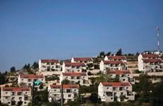Thủ tướng Israel phê chuẩn dự án xây 300 nhà định cư ở Bờ Tây