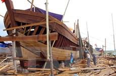 Quảng Bình đóng mới và nâng cấp hơn 80 tàu khai thác hải sản