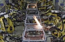Sản xuất công nghiệp Hàn Quốc lần đầu tiên tăng trong 4 tháng