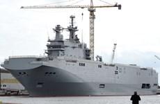 Pháp phủ nhận thông tin đạt thỏa thuận hợp đồng tàu chiến Mistral