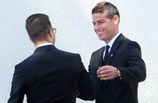 """Sao bóng đá quy tụ trong đám cưới của """"siêu cò"""" Jorge Mendes"""