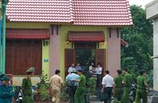 Quảng Trị : Bắt nghi phạm gây án mạng kinh hoàng đâm chết hai cha con
