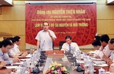 Chủ tịch MTTQ: Vận động tín đồ tôn giáo tham gia bảo vệ môi trường