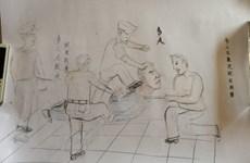 Dư luận Trung Quốc chấn động với bức vẽ cảnh sát tra tấn tù nhân