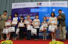 Hai thí sinh của Hà Nội giành vô địch Cuộc thi TOEFL Primary