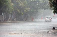 Chiều tối 3/9, Hà Nội có mưa rào kèm theo dông và gió giật