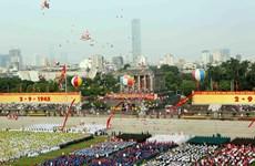 Lãnh đạo các nước gửi điện mừng nhân kỷ niệm 70 năm Quốc khánh