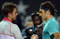 """US Open: Federer """"đại chiến"""" Wawrinka, Halep lần đầu vào bán kết"""